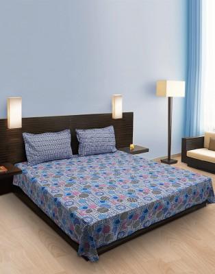 Home Stylerz Cotton Geometric Double Bedsheet
