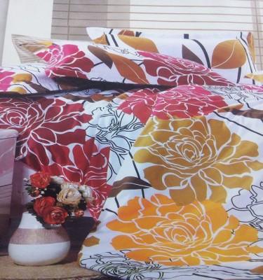 AJ Home Polycotton Floral Double Bedsheet