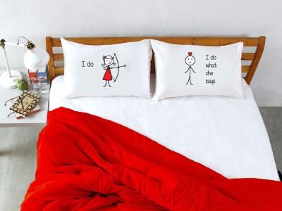 Stoa Paris Cotton Printed Double Bedsheet