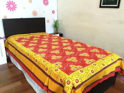 JR Print Cotton Paisley Single Bedsheet