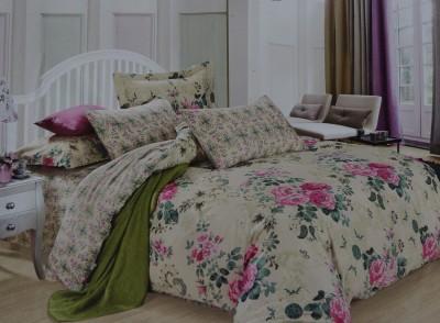 Krishnam Cotton Abstract Double Bedsheet