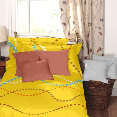 Home Ecstasy Cotton Floral Single Bedsheet