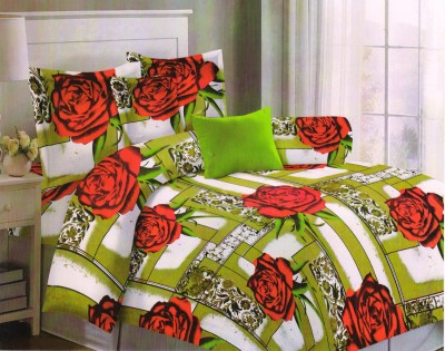 Magrace Cotton Printed Double Bedsheet
