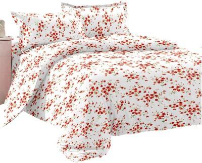 Shop Avenue Cotton Floral Double Bedsheet