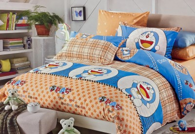 Fashion Pujari Cotton Abstract Queen sized Double Bedsheet