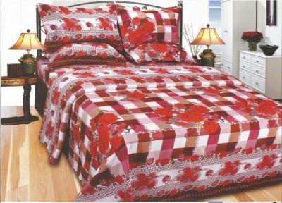 Exotic Cotton Floral Single Bedsheet
