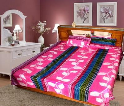 MARTINA PRINT Cotton Printed Double Bedsheet