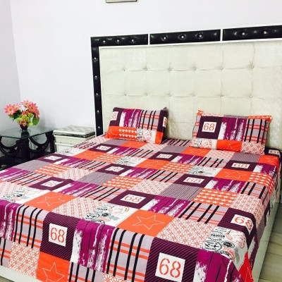 Reliable Trends Cotton Printed Double Bedsheet