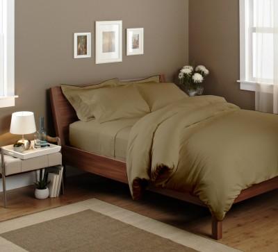 Elegant Bedware Cotton Plain Queen sized Double Bedsheet