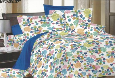 Phunk International Cotton Printed Double Bedsheet