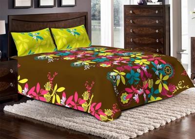 Bella Casa Cotton Printed Double Bedsheet