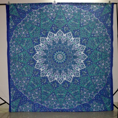 Marusthali Cotton Floral Queen sized Double Bedsheet
