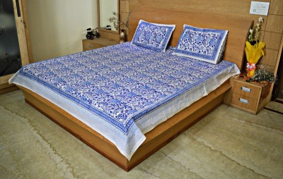 Rajcrafts Cotton Printed Double Bedsheet