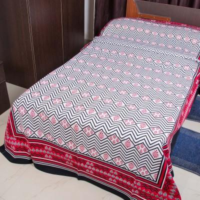 RK Raag Rang Cotton Motifs Single Bedsheet