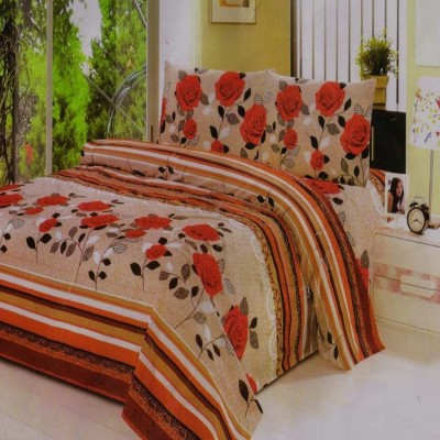 Unnati Cotton Abstract Queen sized Double Bedsheet