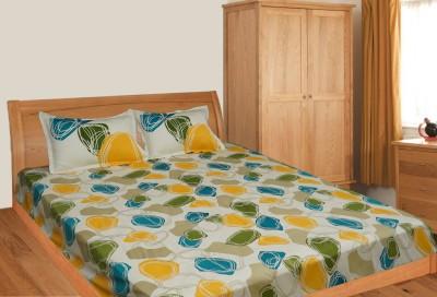 Elan Cotton Printed Double Bedsheet