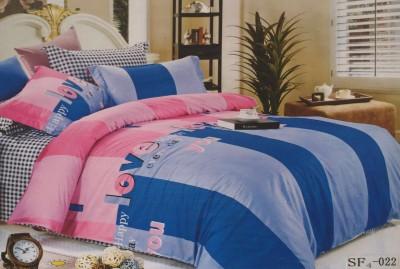 I-Dream Decor Cotton Printed Double Bedsheet