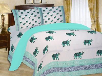 Fabutex Cotton Animal Double Bedsheet