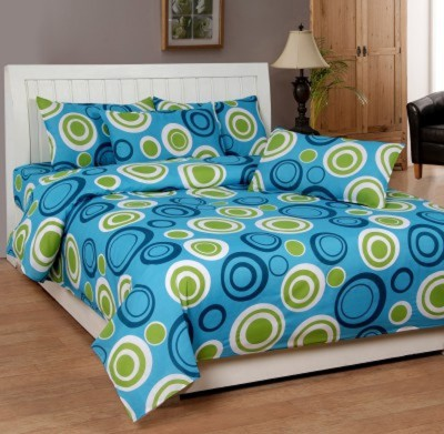 NS Polycotton Geometric Double Bedsheet