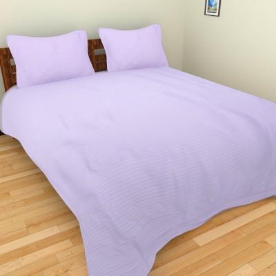BSB Trendz Cotton Plain Double Bedsheet