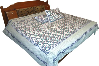 Jaipur Art and Craft Cotton Printed Double Bedsheet
