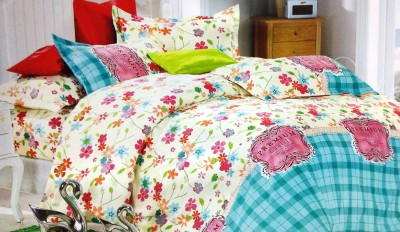 Maxx Home Polycotton Floral Double Bedsheet