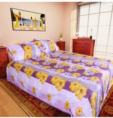 Husna Collectios Cotton Floral Double Bedsheet