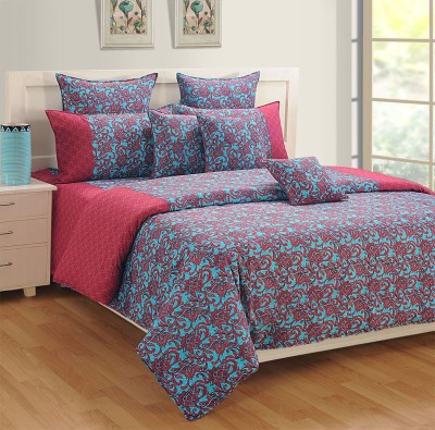 Swayam Cotton Abstract Single Bedsheet