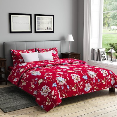RAGO Polycotton Floral Double Bedsheet