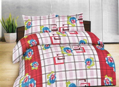 Goodwill Cotton Abstract Queen sized Double Bedsheet