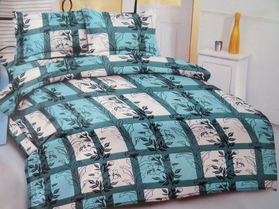 Deluxe Cotton Floral Queen sized Double Bedsheet