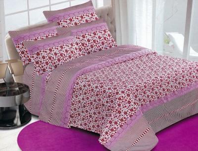 Safari Home Polycotton Floral Double Bedsheet