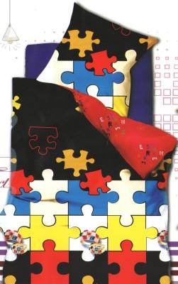 Breeza Polycotton Geometric Double Bedsheet