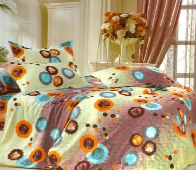 Reliable Polycotton Plain Queen sized Double Bedsheet
