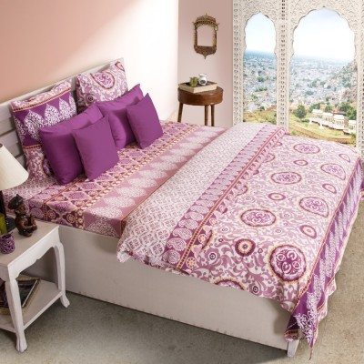 House This Cotton Printed Single Bedsheet