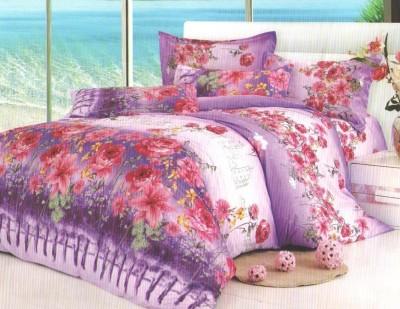 Breeza Polycotton Floral Double Bedsheet