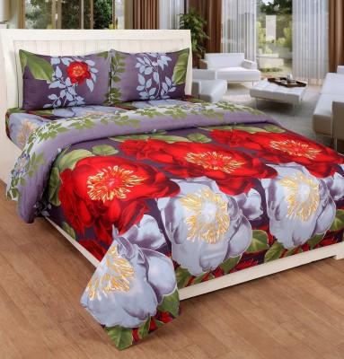 La elite Polycotton Floral Double Bedsheet