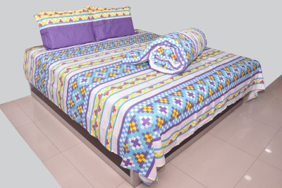 Trident Cotton Printed Double Bedsheet