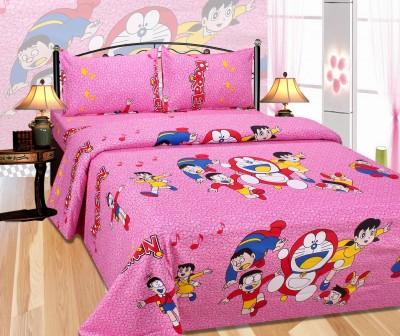 Pasricha Handlooms Cotton Printed Double Bedsheet