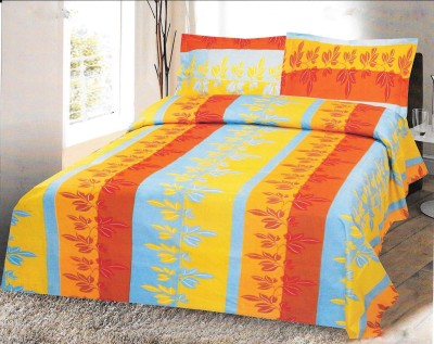 Kal Cotton Abstract Queen sized Double Bedsheet