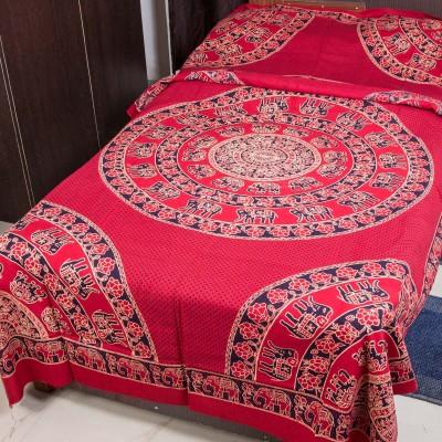 RK Raag Rang Cotton Animal Single Bedsheet