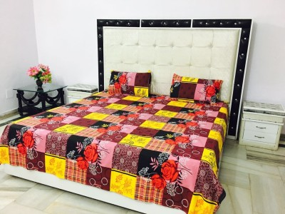 Reliable Trends Cotton Abstract Double Bedsheet