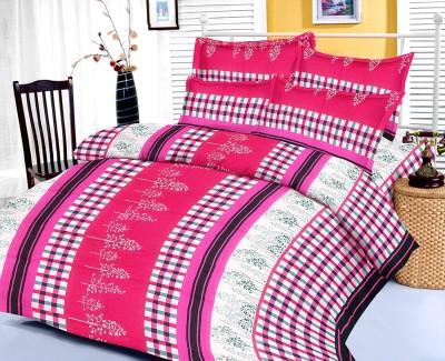 Factorywala Cotton Abstract Double Bedsheet