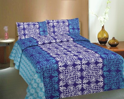 Ctm Textile Mills Cotton Abstract Double Bedsheet