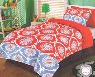 Decor Vatika Cotton Paisley Single Bedsheet