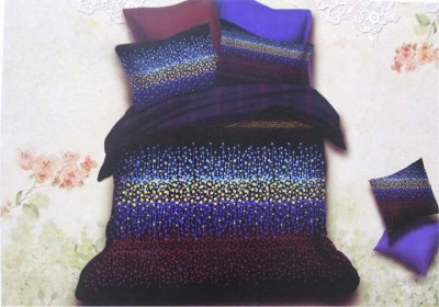 The Intellect Bazaar Polycotton 3D Printed Double Bedsheet