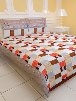 Aastha Polyester Printed Double Bedsheet
