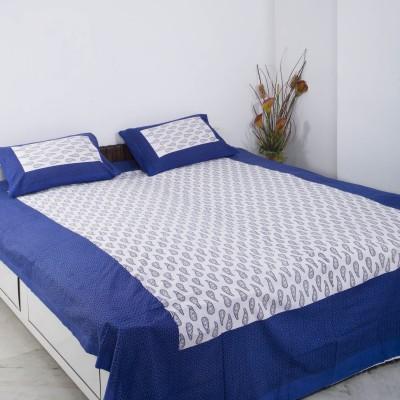 Smile2u Retailers Cotton Printed Double Bedsheet