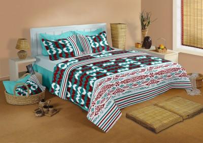 Raymond Home Cotton Printed Double Bedsheet