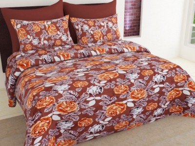 Ahem Homes Cotton Floral Single Bedsheet